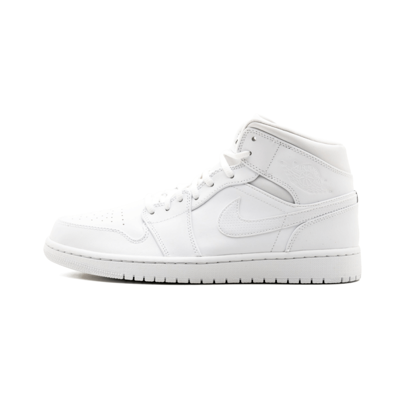 Air Jordan 1 Mid White/Black-White 554724-110 Cyber Monday
