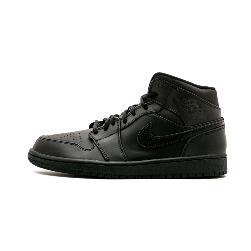 Air Jordan 1 Mid Black/White 554724-034 Black Friday