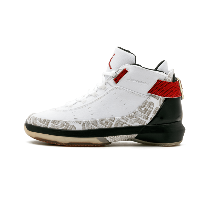 Air Jordan 22 PE WMNS White/Varsity Red-Black 317142-161 Cyber Monday