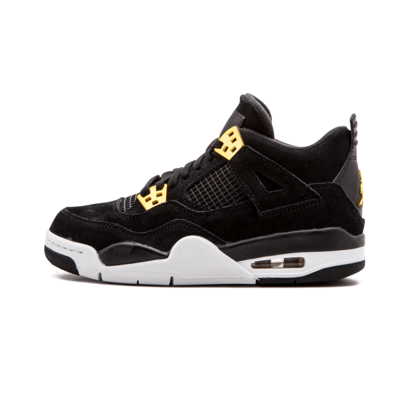 Air Jordan 4 Retro WMNS Black/Metallic Gold-White 408452-032 Black Friday