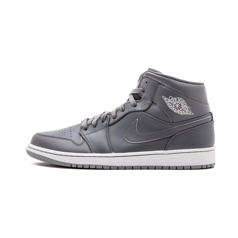 Air Jordan 1 Mid Cool Grey/Grey-White-Wolf Grey 554724-031 Cyber Monday