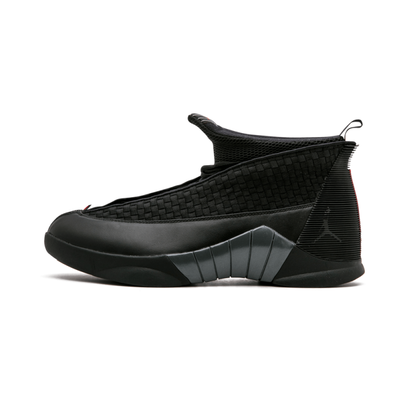 Air Jordan 15 Retro Black/Varsity Red-Anthracite 881429-001 Cyber Monday