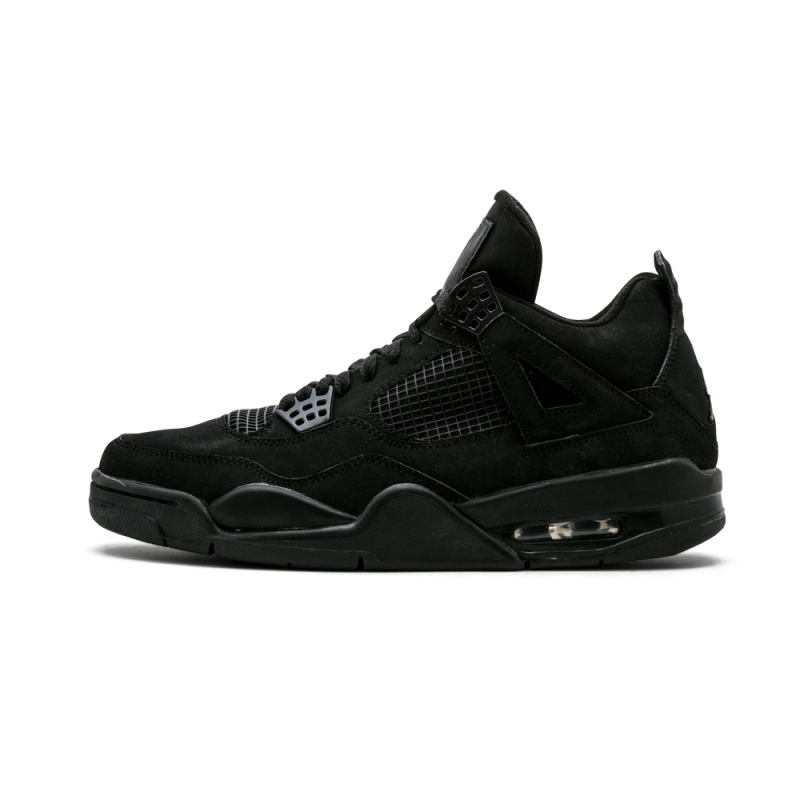 Air Jordan 4 Retro Black/Black-Graphite 308497-002 Black Friday