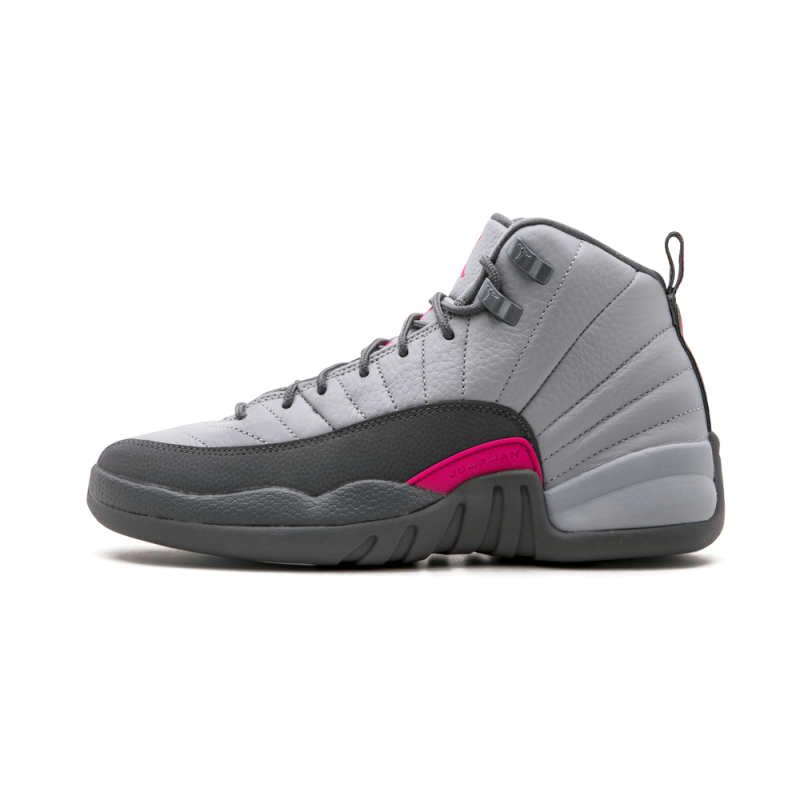 Air Jordan 12 Retro WMNS Wolf Grey/Vivid Pink-Cool Grey 510815-029