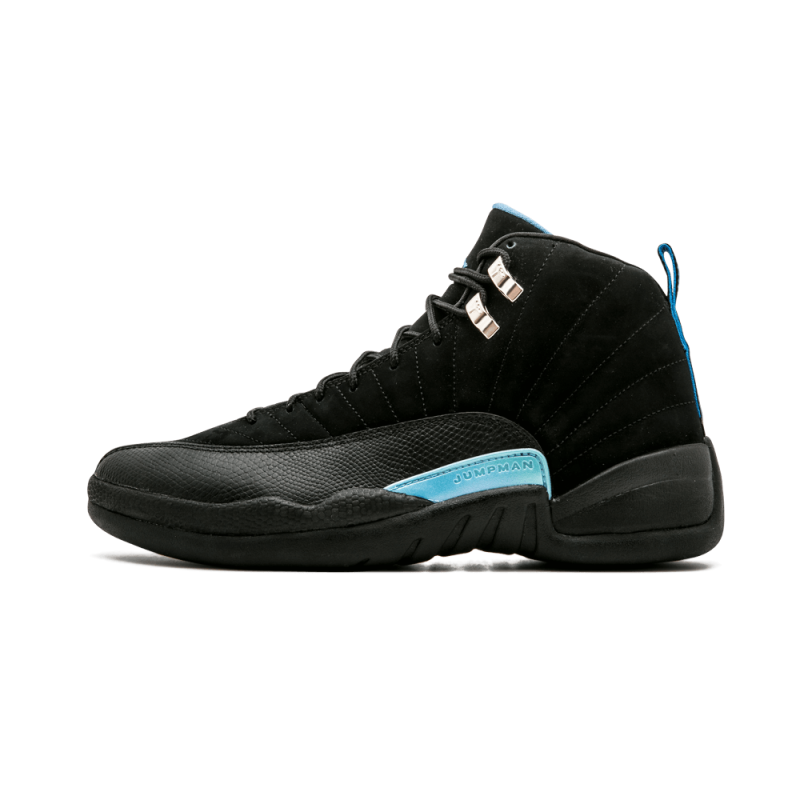 "Air Jordan 12 Retro ""2009 Release"" Black/White-University Blue 130690-018"