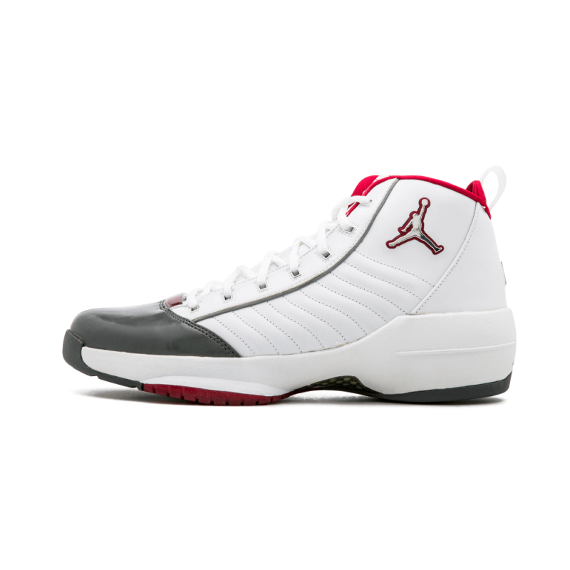 Air Jordan 19 SE White/Flint Grey-Deep Red 308492-101 Black Friday