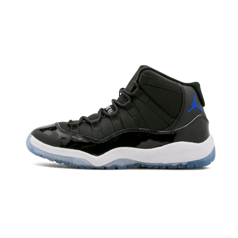 "Jordan 11 Retro BP ""2016 Space Jam"" Black/Concord-White 378039-003"