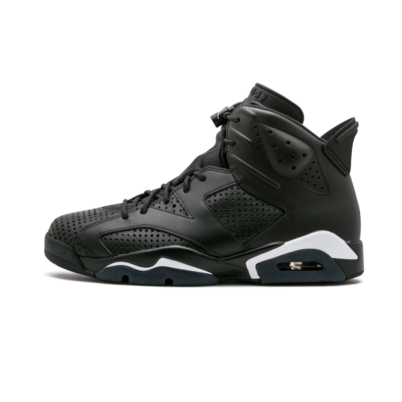 "Air Jordan 6 Retro ""Black Cat"" Black/White 384664-020 Cyber Monday"