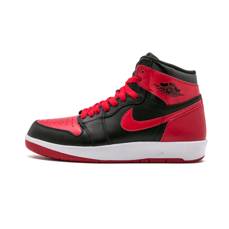 Air Jordan 1 Hi The Return WMNS Black/Black-Gym Red 768862-001