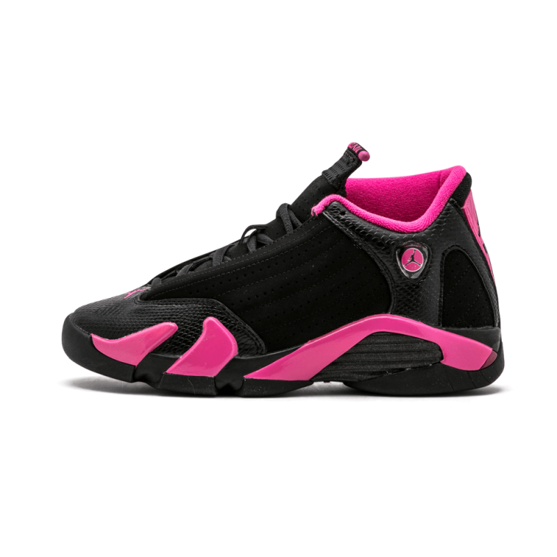 Air Jordan 14 Retro WMNS Black/Desert Pink 467798-012 Cyber Monday