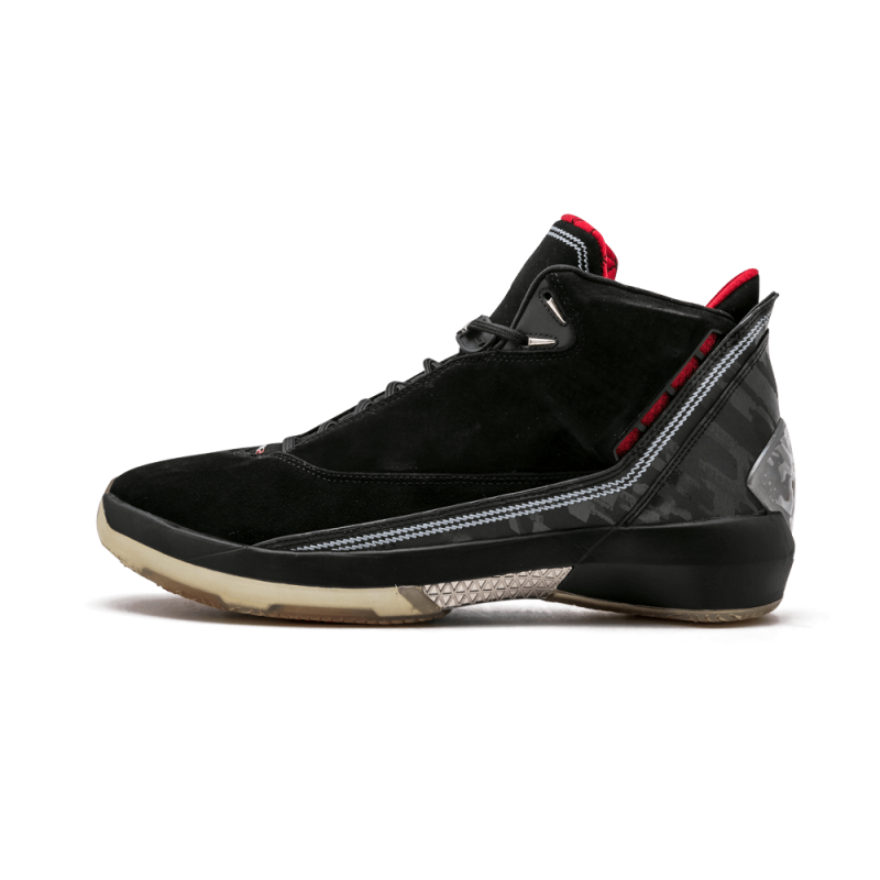 Air Jordan 22 Black/Varsity Red-Metallic Silver 315299-001 Black Friday