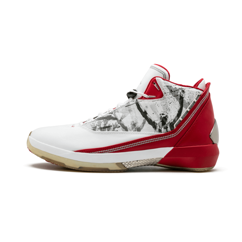 Air Jordan 22 White/Varsity Red-Black 315299-162 Black Friday