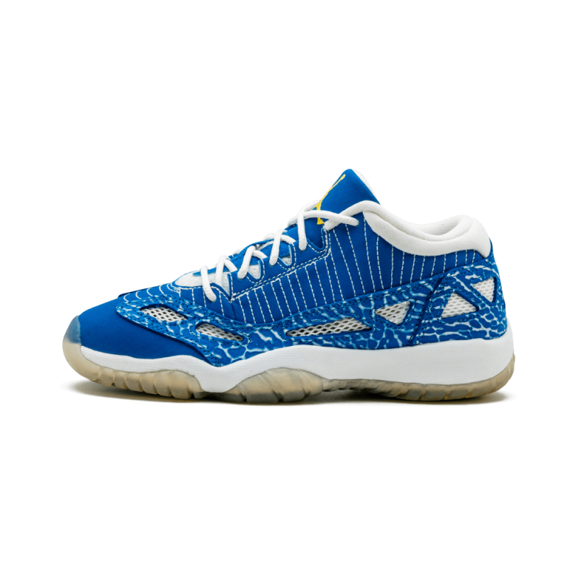Air Jordan 11 Retro Low WMNS Argon Blue/Zest-White 306006-472