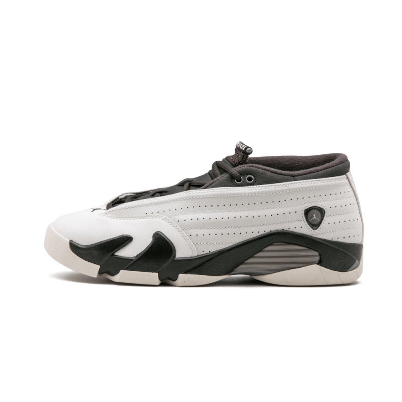 Air Jordan 14 Retro Low PRM WMNS Phantom/White-Dark Storm-Mtlc Pwtr 807510-027