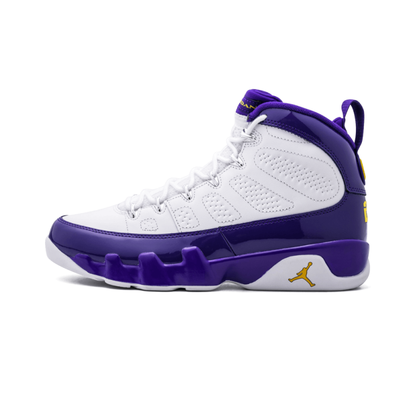 "Air Jordan 9 Retro ""Kobe"" White/Tour YelLow-Concord 302370-121"