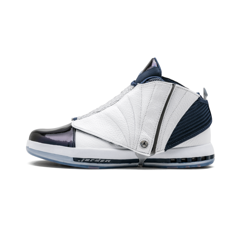 Air Jordan 16 Retro White/White-Navy 683075-106 Cyber Monday