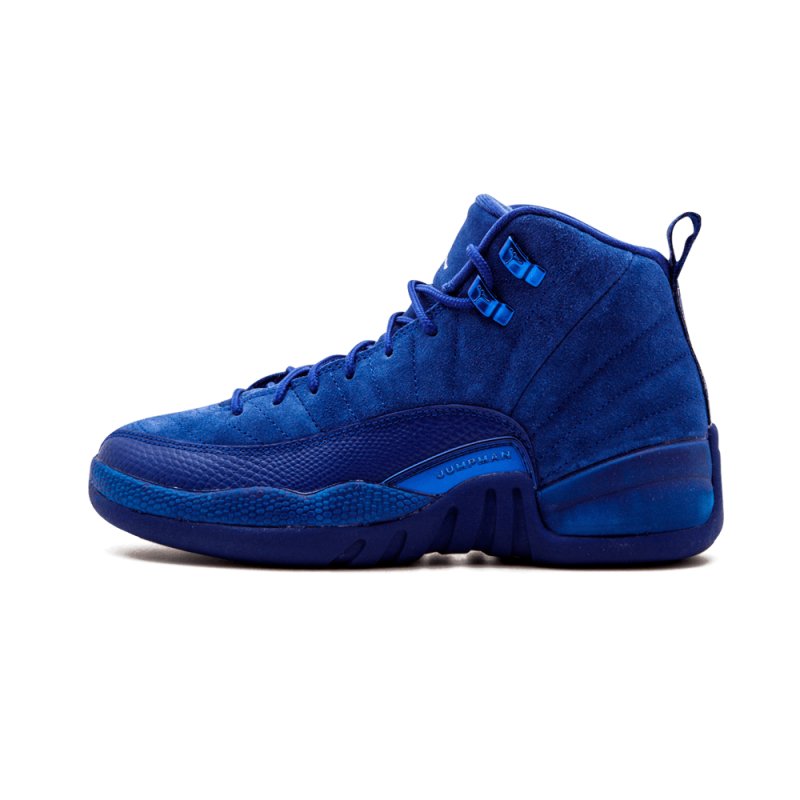 Air Jordan 12 Retro WMNS Deep Royal Blue/White-Metallic 153265-400