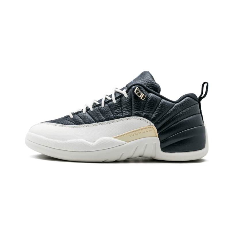 Air Jordan 12 Low Obsidian/Univerity Blue-White 308317-441 Black Friday