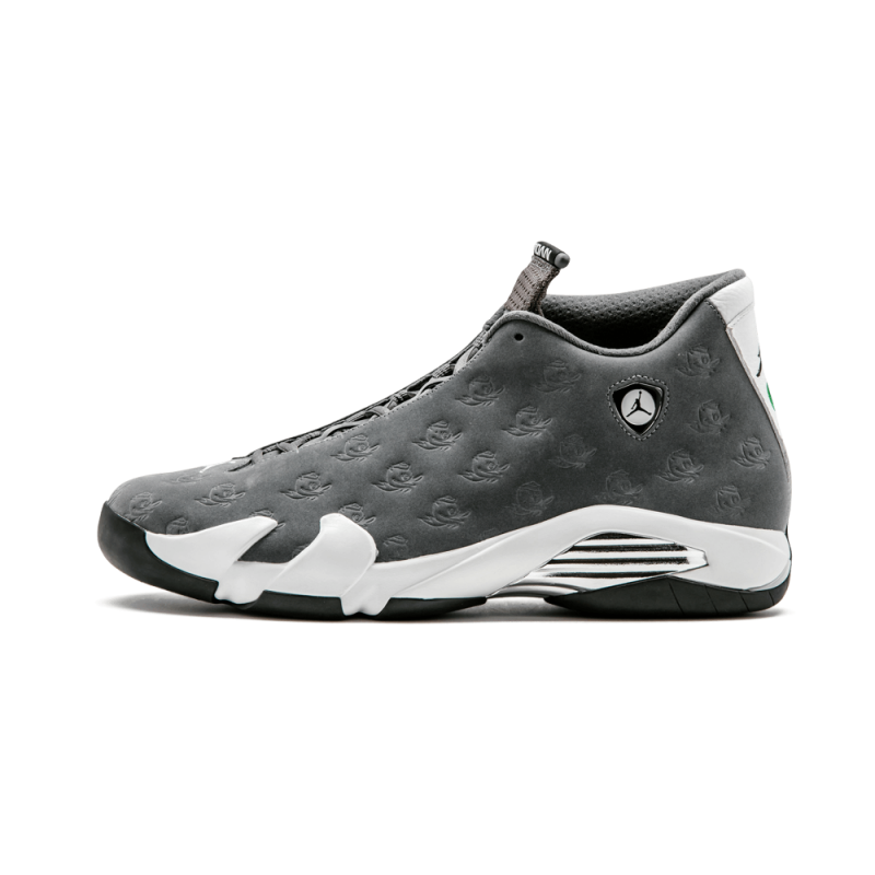 "Air Jordan 14 Retro ""Oregon Ducks"" Grey/White FA14-MNJDLS-779/625850"