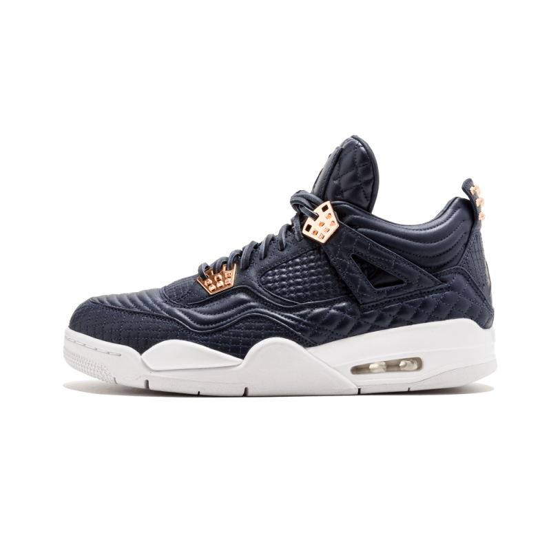 "Air Jordan 4 Retro Premium ""Pinnacle"" Obsidian/Obsidian White 819139-402"