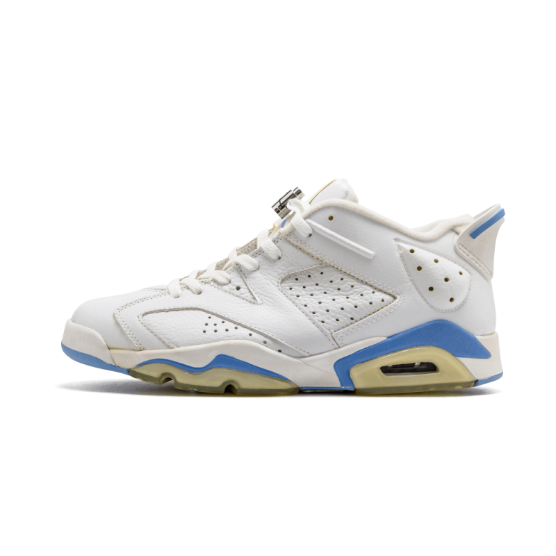 Air Jordan 6 Low White/University Blue 304401-141 Cyber Monday