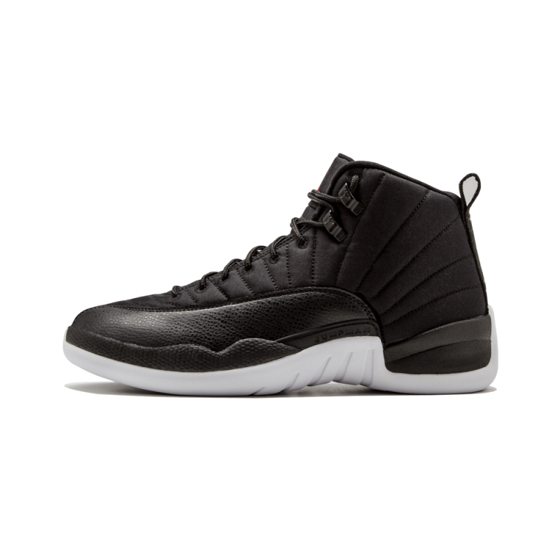"Air Jordan 12 Retro ""Neoprene"" Black/Gym Red-White 130690-004"