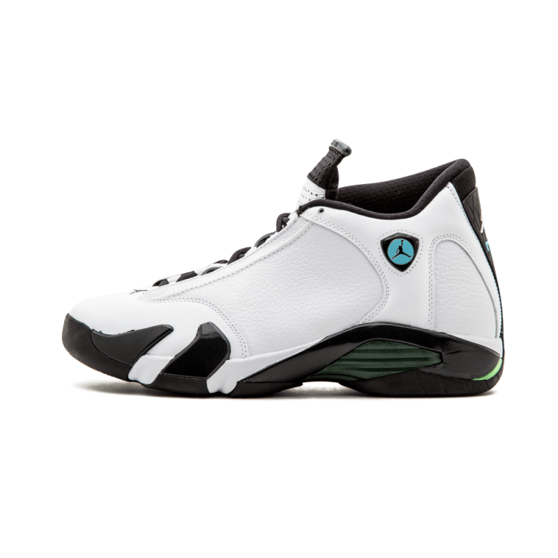 Air Jordan 14 Retro White/Black 487471-106 Cyber Monday