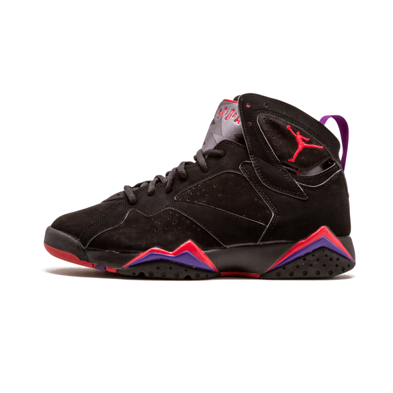 "Air Jordan 7 Retro ""Raptor"" ""2002 Release"" Black/Dark Charcoal-True Red 304775-006"