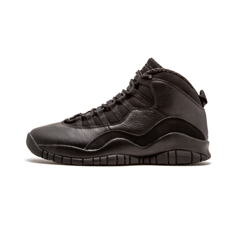 Air Jordan 10 Retro Black/White 310805-010 Cyber Monday