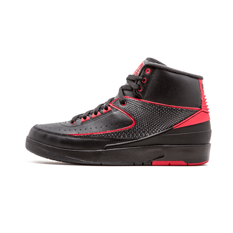 Air Jordan 2 Retro Black/Varsity Red 834274-001 Cyber Monday