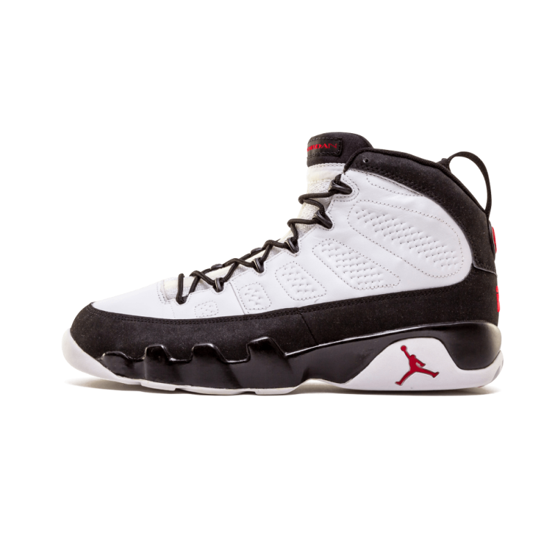 "Air Jordan 9 Retro ""2002 Release"" White/Black-True Red 302370-101"