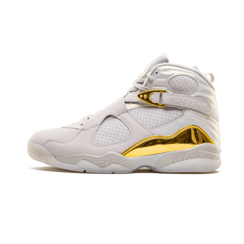 "Air Jordan 8 Retro C&C ""CHAMPAGNE 8"" Light Bone/Metallic Gold-White 832821-030"