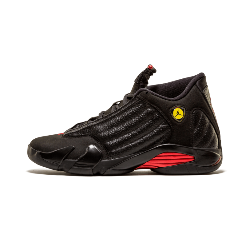 "Air Jordan 14 Retro ""Last Shot"" Black/Varsity Red-Black 311832-010"