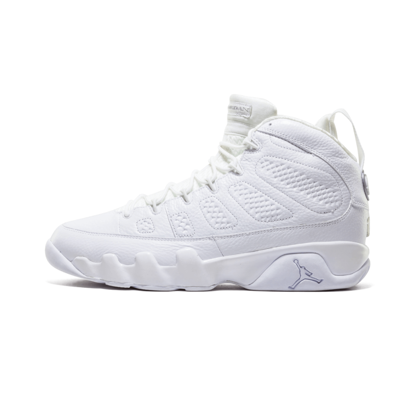 "Air Jordan 9 Retro ""25th Anniversary"" White/Metallic Silver 302370-104"