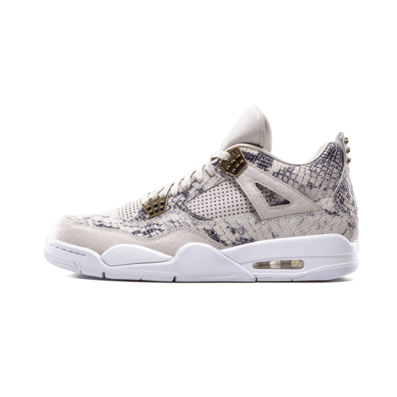 "Air Jordan 4 Retro Premium ""PinnacleS"" Light Bone/White-Wolf Grey 819139-030"