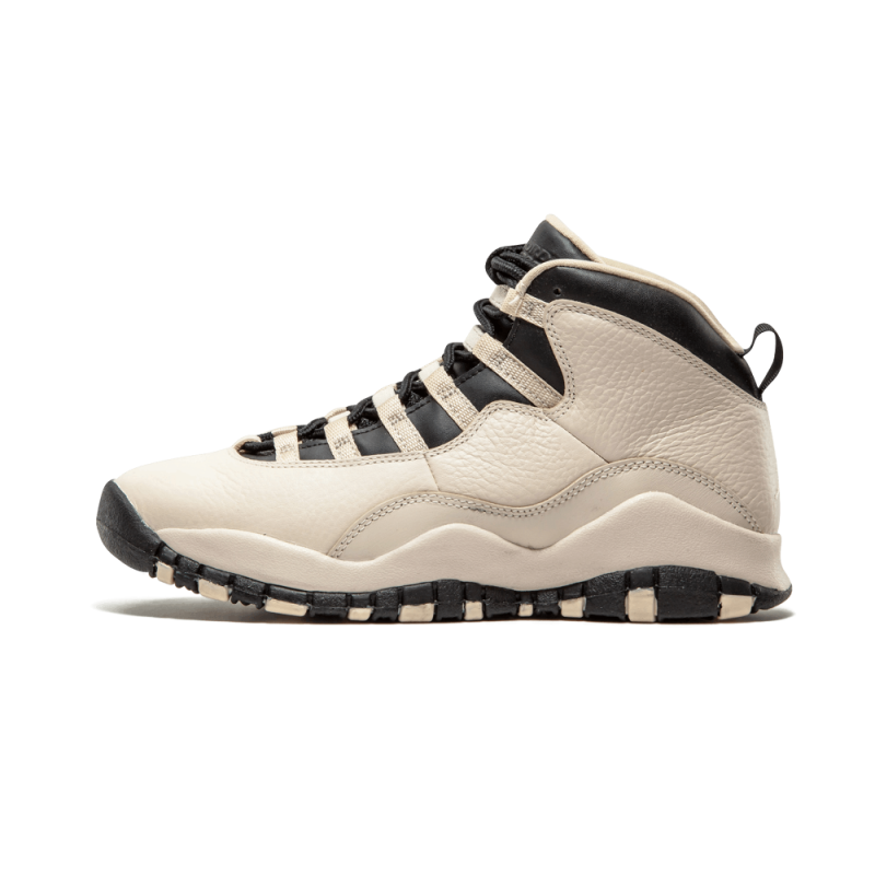 "Air Jordan 10 Retro PREM WMNS ""Heiress"" PEARL White/Black-Black 832645-207"