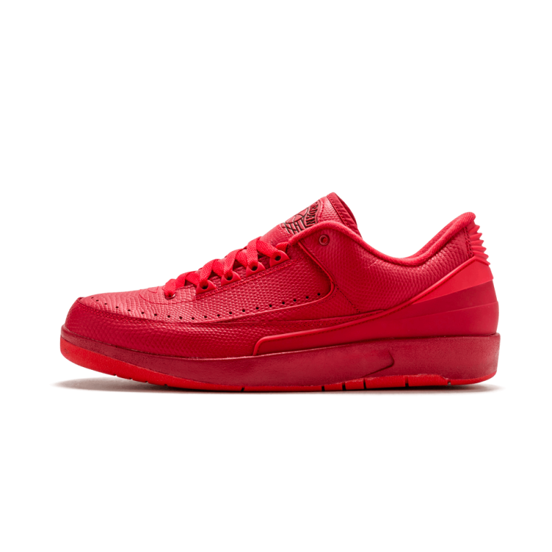 Air Jordan 2 Retro Low Gym Red/University Red-Hyper Turquoise 832819-606