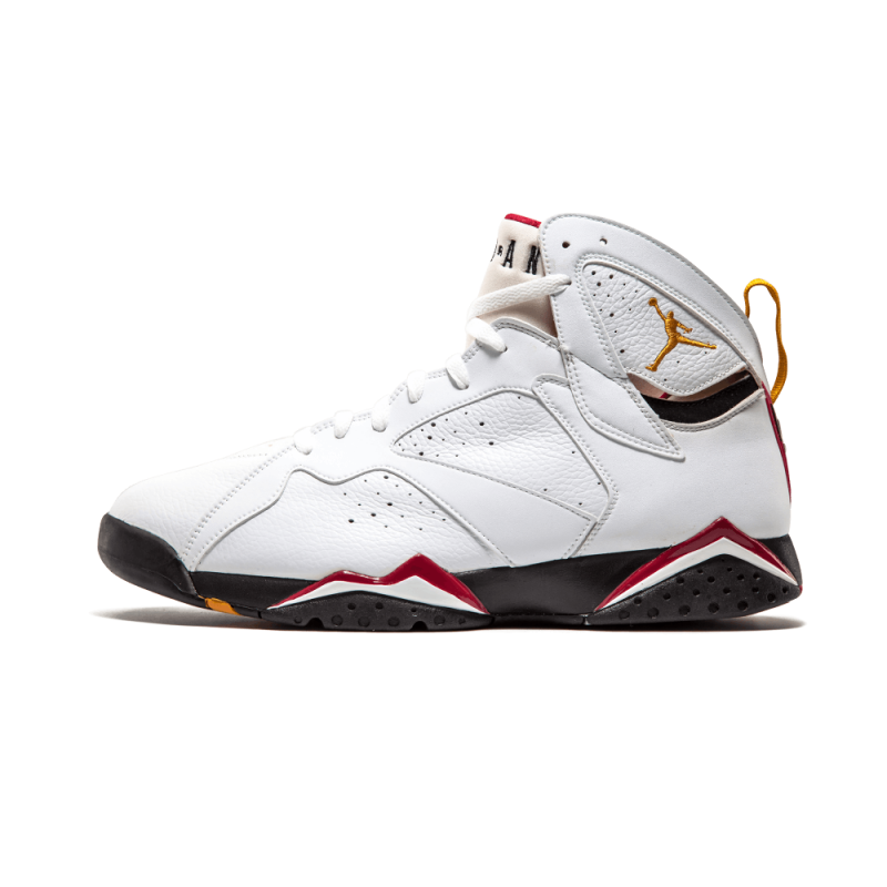 "Air Jordan 7 Retro ""CARDINALS"" White/Black-Cardinal Red-BRONZ 304775-101"