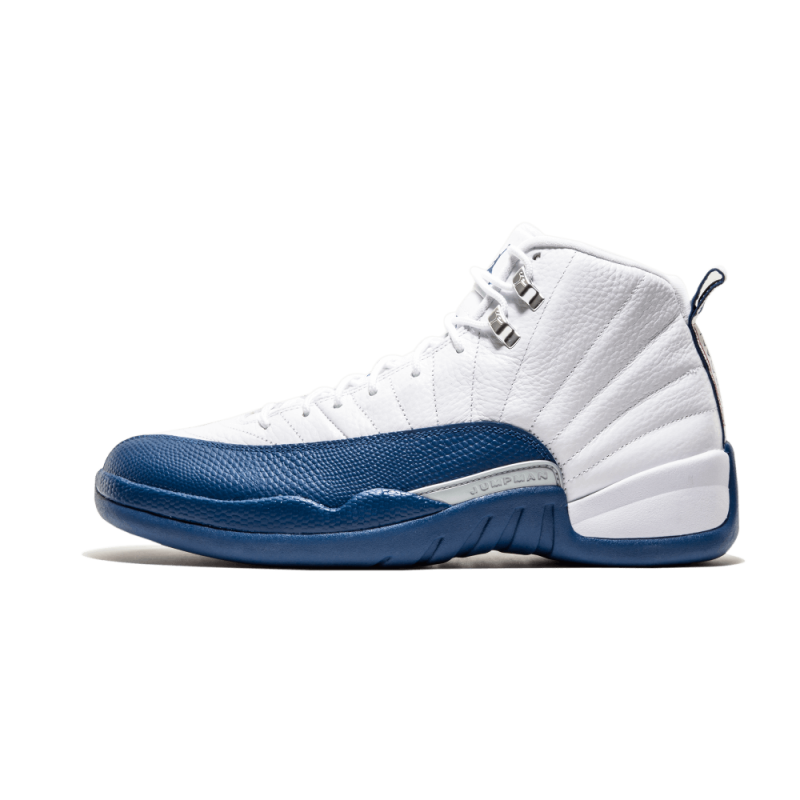 "Air Jordan 12 Retro ""French Blue 2016"" White/French Blue-Metallic Silver 130690-113"