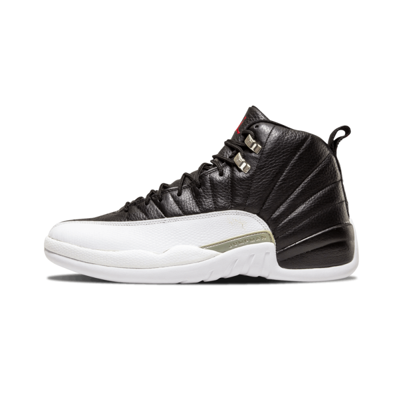"Air Jordan 12 Retro ""2004 Release"" Black/White-Varsity Red 136001-016"