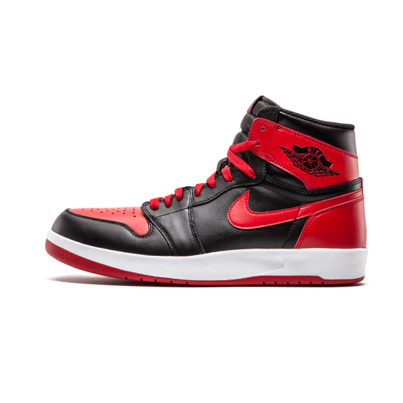 Air Jordan 1 High The Return Black/Black-Gym Red-White 768861-001