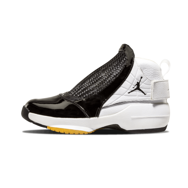 Air Jordan 19 Black/Black-Met Gold-White 307546-002 Cyber Monday