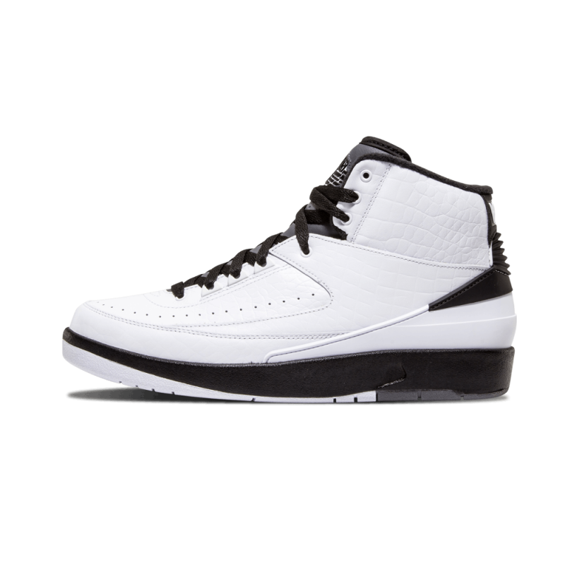 "Air Jordan 2 Retro ""Wing It"" White/Black-Dark Grey 834272-103"