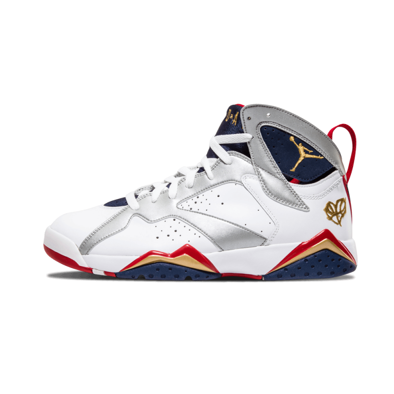 "Air Jordan 7 Retro ""LOVEFORTHEGAME"" White/Mtllc Gold-Red-Mid Navy 304775-103"