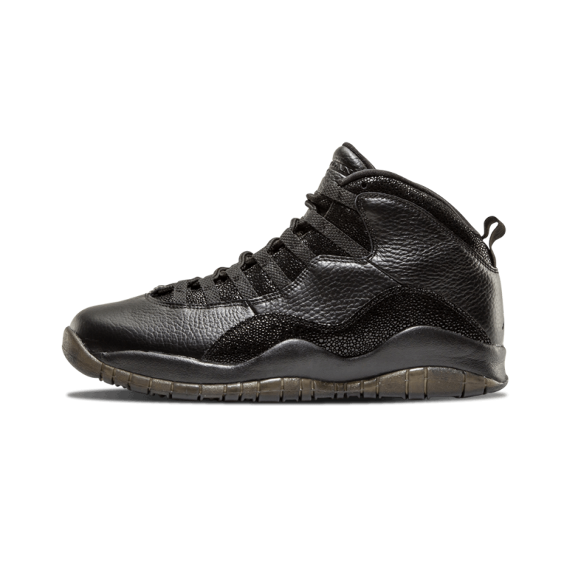 Air Jordan 10 Retro OVO Black/Black-Metallic Gold 819955-030 Black Friday