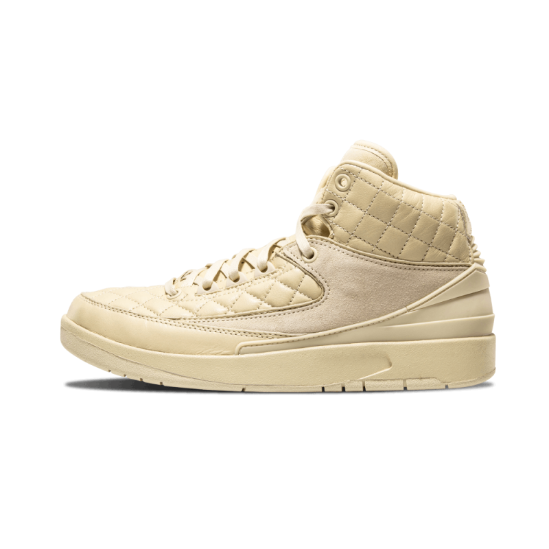 Air Jordan 2 R JS DN WMNS Beach/Metallic Gold-Red 839604-250 Cyber Monday