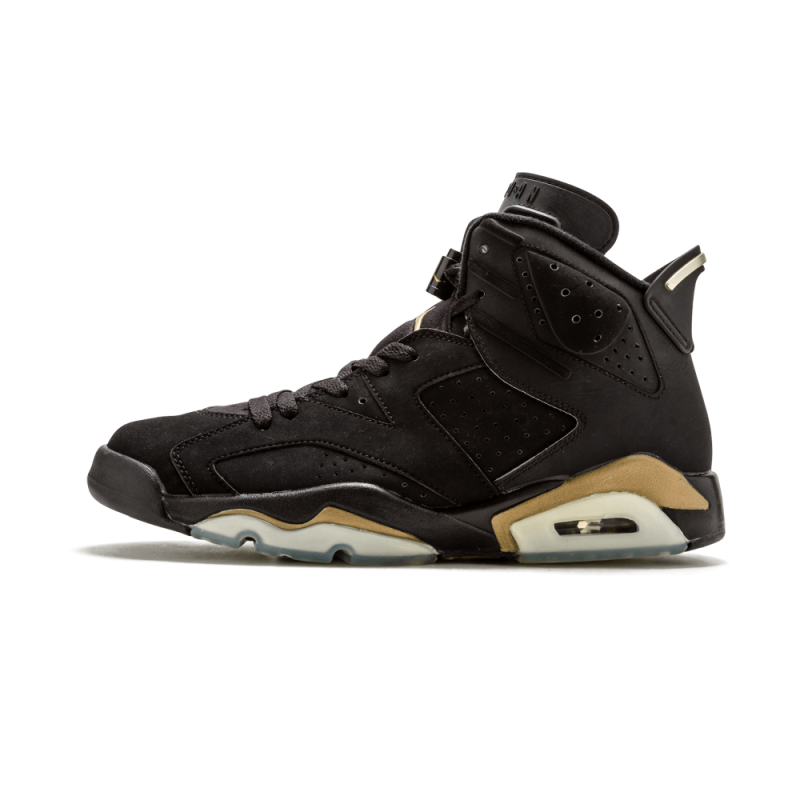 "Air Jordan 6 DMP ""DMP"" Black/Gold 136038-071 Cyber Monday"