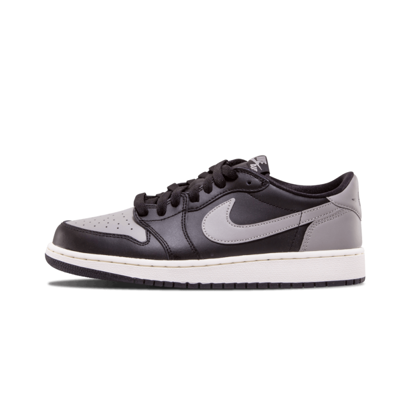 Air Jordan 1 Retro Low OG WMNS Black/Medium Grey-Sail 709999-003