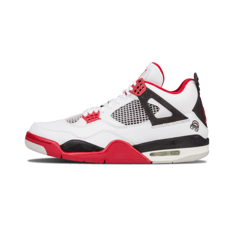 "Air Jordan 4 Retro ""Mars Blackmon"" White/Varsity Red-Black 308497-162"