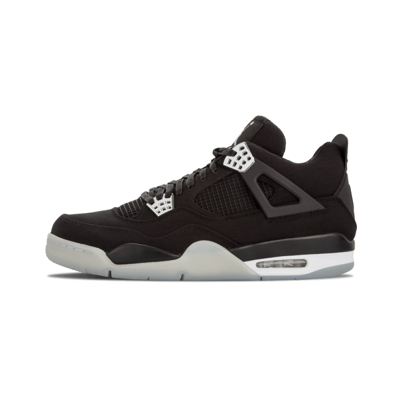 "Air Jordan 4 Retro ""EMINEM x Carhartt"" Black/Chrome-White 582314-879"
